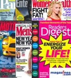 magazines as picture